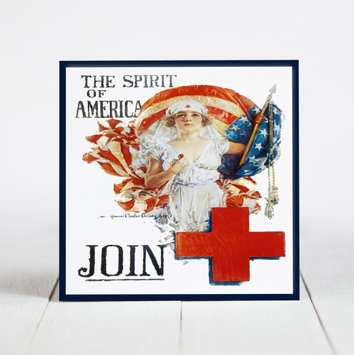 Red Cross Nurse - Spirit of America c.1919 WWI