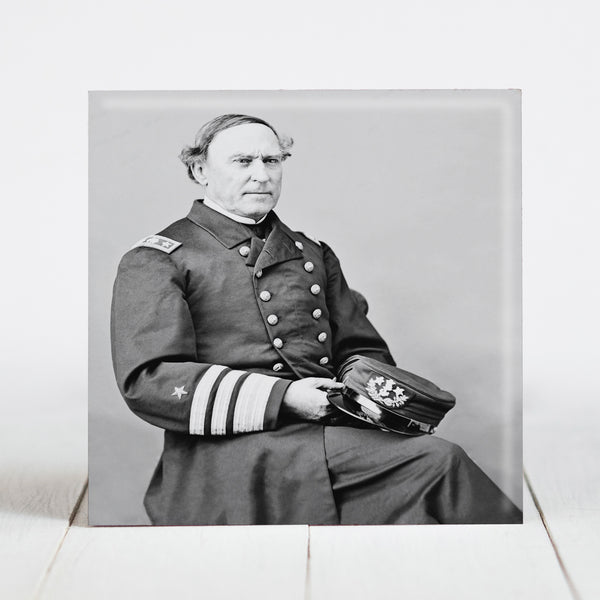 US Navy Admiral David Glasgow Farragut c.1865