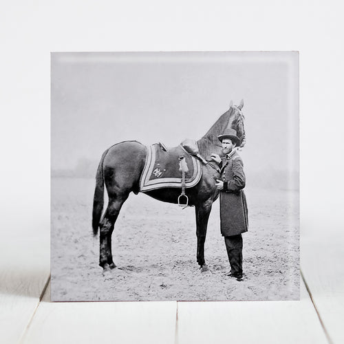 Union General Ulysses S. Grant with Horse, Cincinnati - Civil War Era