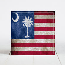Load image into Gallery viewer, Vintage American with South Carolina Flag