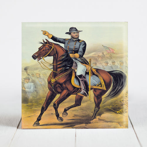 Union General Ulysses S. Grant on Horse
