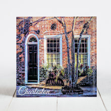 Load image into Gallery viewer, Brick Home with Window Boxes, Charleston SC