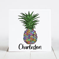 Colorful Pineapple - Charleston, SC
