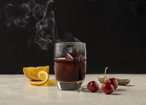 Smoked Black Cherry cocktail