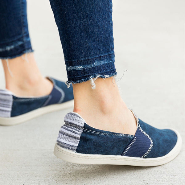 Kakimoda Comfy Insole Slip-On Sneakers Summer Flats
