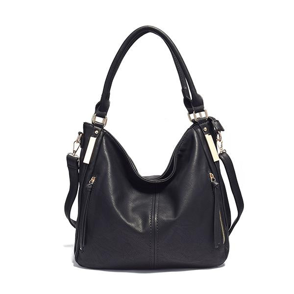 Kakimoda Cool Casual Medium Leather Hobo Bag