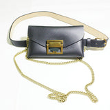 Kakimoda Fashion Snake Waist Pocket Diagonal Chain Bag