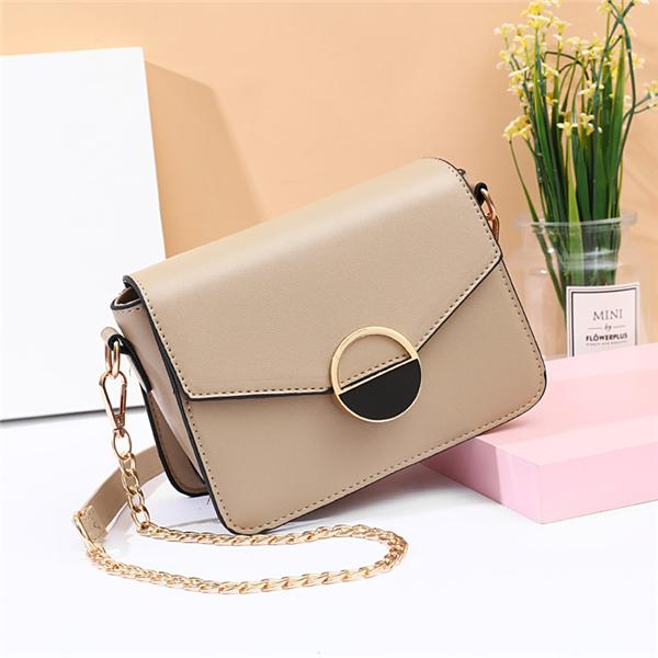 Kakimoda Chain Leisure Fashion PU Shoulder Bag