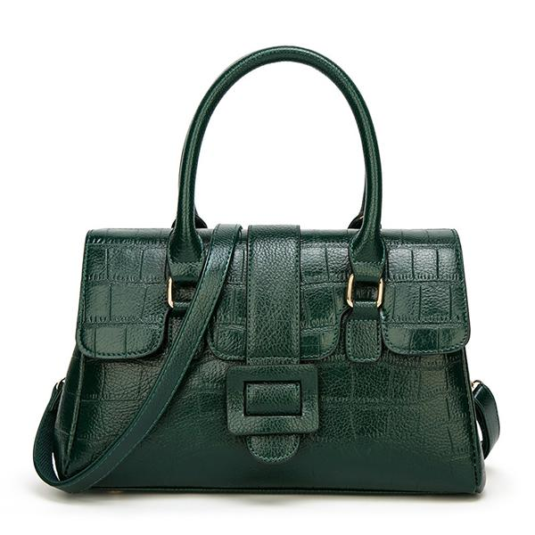 Kakimoda Fashion Stylish Crocodile Pattern Handbag