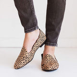 Kakimoda Madison Cheetah Flats Sandals