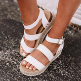 Kakimoda New In Daily Adjustable Buckle Platform Sandals