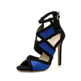 Kakimoda Fashion Adjustable Buckle Thin Heeled Sandals
