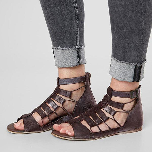 Kakimoda New Style Fashion Zipper Casual Sandals