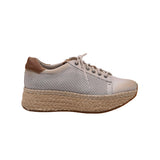 Kakimoda Artificial Leather Athletic Hollow-Out Sneakers