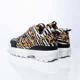 Kakimoda Animal Print Chunky Sneakers