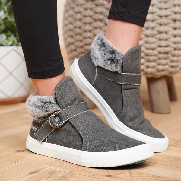 Kakimoda Faux Fur Lined Sneakers