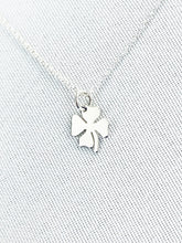 Load image into Gallery viewer, Shamrock Necklace .925 Sterling Silver - MiShelli