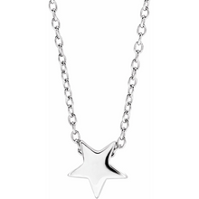 Load image into Gallery viewer, 14K Gold Star Necklace - MiShelli
