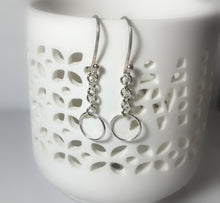 Load image into Gallery viewer, Sterling Silver Dangles, Simple Everyday Earrings, Gifts for her - MiShelli