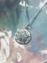 Load image into Gallery viewer, Sand Dollar Necklace 925 Sterling Silver Pendant, Beach Jewelry - MiShelli