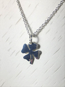 Clover Necklace .925 Sterling Silver - MiShelli