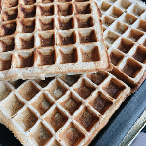 Protein And Oat Waffles (2)