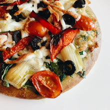 Load image into Gallery viewer, Vegetarian Cauliflower Pizza