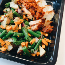 Load image into Gallery viewer, Chicken and Butternut Squash Hash with Romesco Sauce