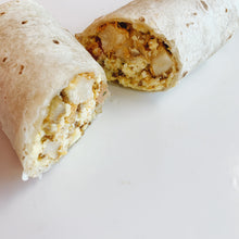 Load image into Gallery viewer, Breakfast Burrito With Bacon