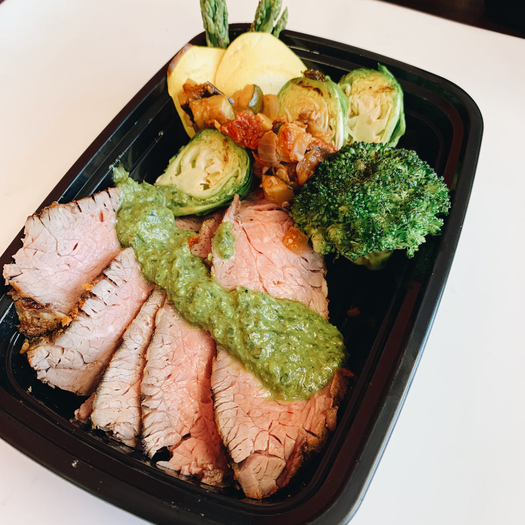Tri Tip with Vegetables