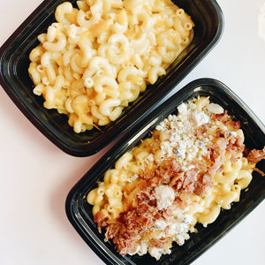 Macaroni & Cheese with Bacon and Blue Cheese