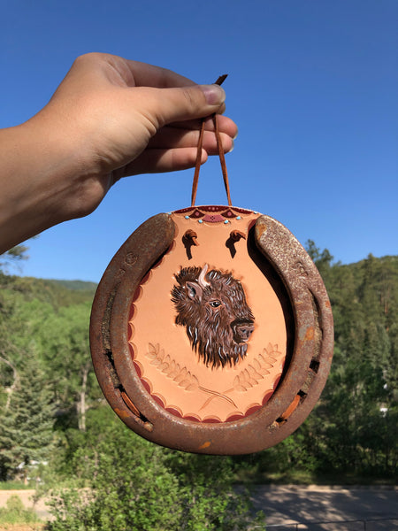 Home on the Range Horseshoe Wall Hanging