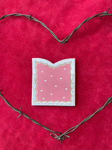 Lover Card Holder- Pink