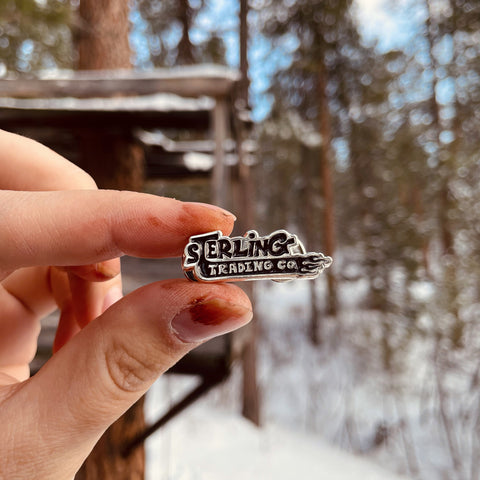Sterling Trading Co Enamel Pin
