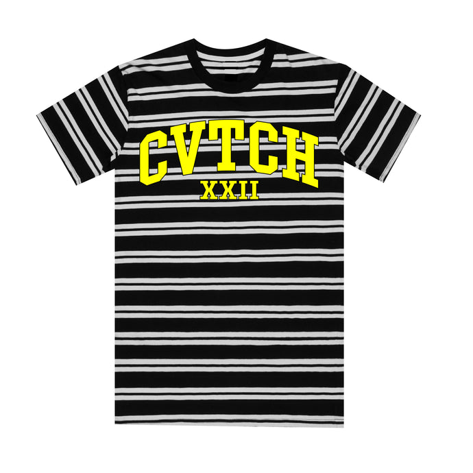CVTCHXXII Striped Varsity T-Shirt