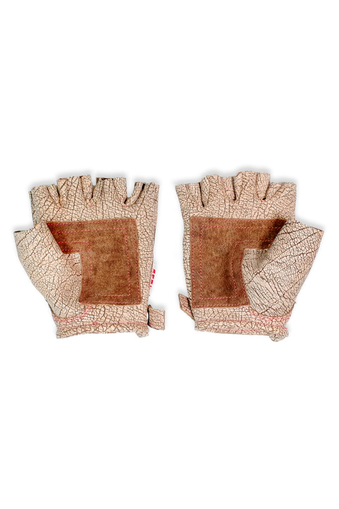 Acc. 10 - Leather Fingerless Gloves
