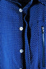 Mod. 5 Col. 1 - Royal Blue Button-Up