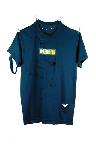 Tee. 1 - NEVERMIND Black & Yellow
