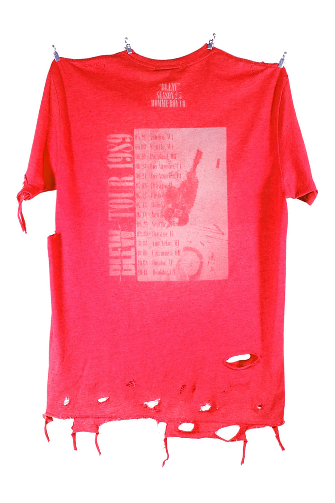 Tee. 9 - Infrared Blew Tour 1989