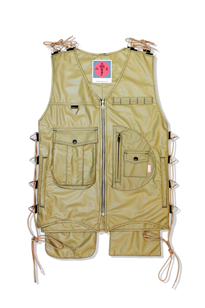 Mod. 28B Col. 3 - Adjustable Vest Yellow/Navy