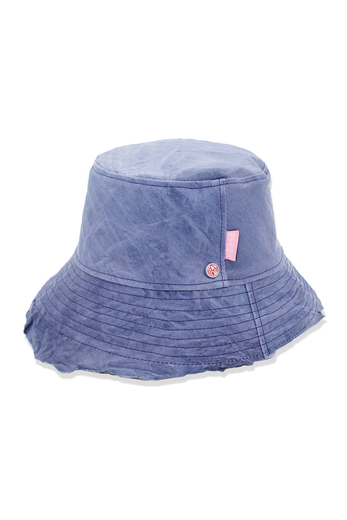 Acc. 17 Col. 5 - POCHE Leather Hat - Lavender