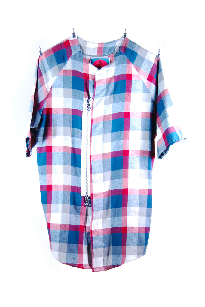 Mod. 6 Col. 2 - Plaid Baseball Shirt