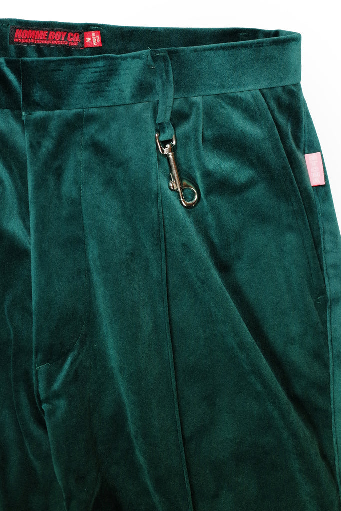 Mod. 26 Col. 4 - Green Flared Trousers