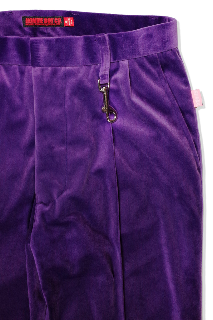 Mod. 26 Col. 5 - Purple Flared Trousers