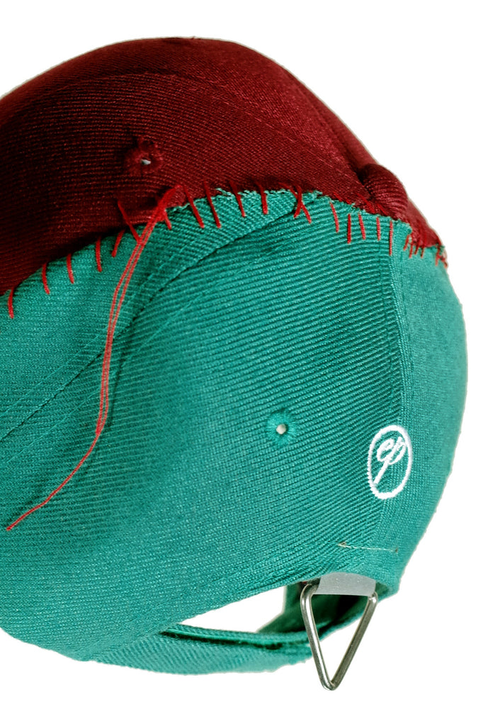 Cap. 3B - Reassembled U/I Maroon/Green
