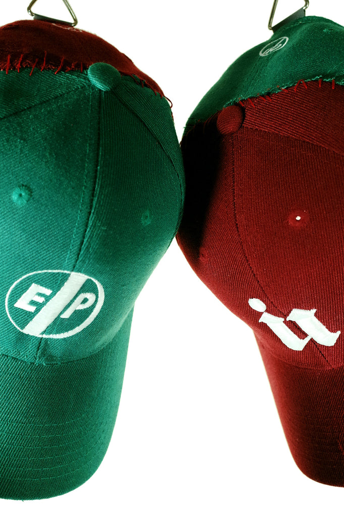 Cap. 2B - Reassembled E/PIL Green/Maroon