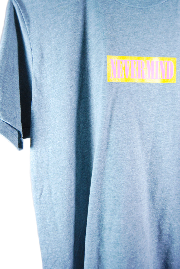 Tee. 3 - NEVERMIND Yellow & Pink