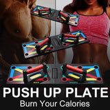 9-in-1 Push-Up Rack Board
