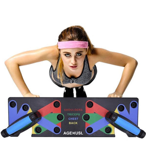 9-in-1 Push-Up Rack Board - Health and Beauty