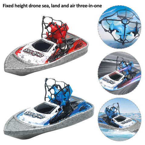 Terzetto 3 in 1 Mini Drone 3-Mode (Water Ground & Air) RC Quadcopter Gift for Kids